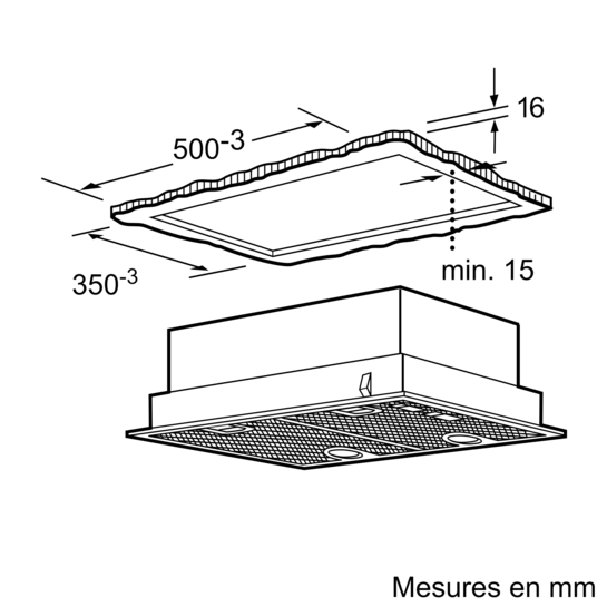 groupe filtrant 55 cm iq300 lb55564 siemens. Black Bedroom Furniture Sets. Home Design Ideas