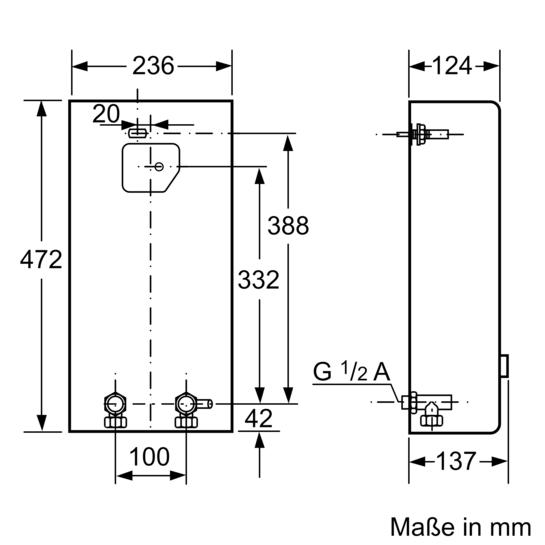 electronic durchlauferhitzer electronisch 18kw de18401. Black Bedroom Furniture Sets. Home Design Ideas