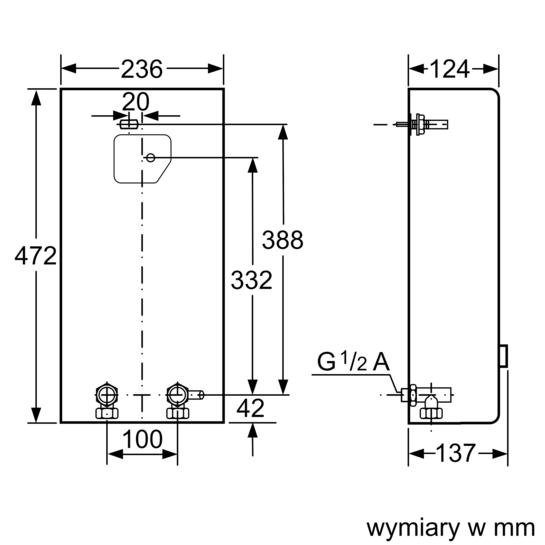 Drawing Lines Media Group : Przepływowy ogrzewacz wody sterowany hydraulicznie