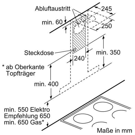 60 cm wand esse iq100 lc64ba521 siemens. Black Bedroom Furniture Sets. Home Design Ideas