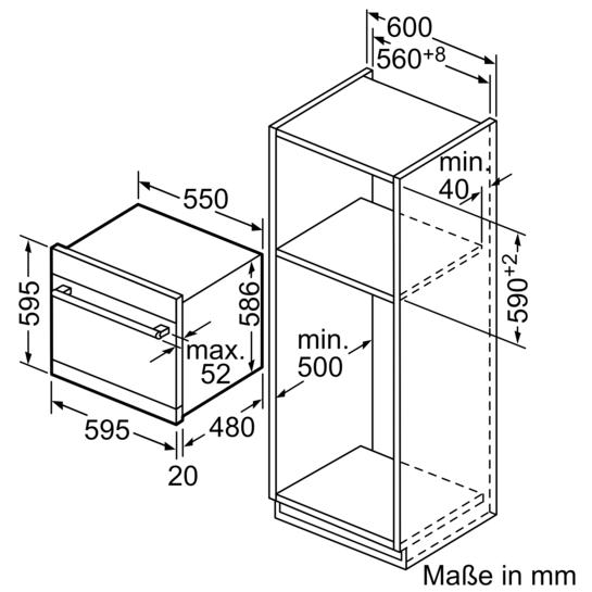 speedmatic modular geschirrsp ler einbauger t h he 60cm edelstahl iq500 sc76m541eu siemens. Black Bedroom Furniture Sets. Home Design Ideas