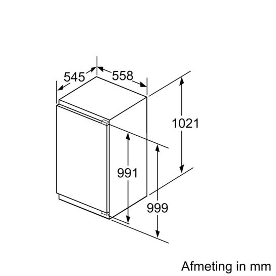 bosch producten koelkasten en vriezers koelkasten koelkasten met vriesvak kil32ad30. Black Bedroom Furniture Sets. Home Design Ideas