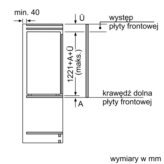 coolefficiency ch�odziarka do zabudowy hyperfresh iq700
