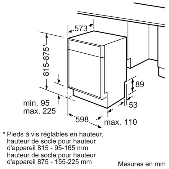 speedmatic lave vaisselle 60cm appareil sous plan de. Black Bedroom Furniture Sets. Home Design Ideas