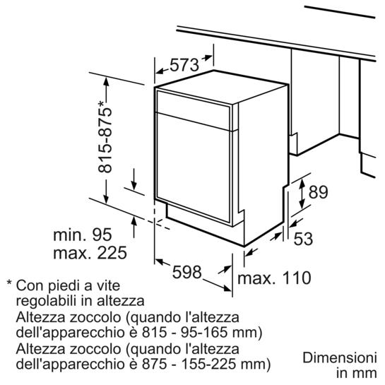 Speedmatic speedmatic lavastoviglie 60cm sottopiano for Lavastoviglie siemens istruzioni