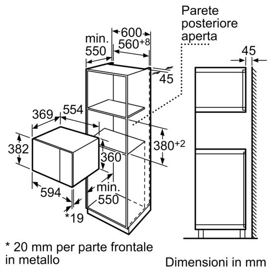 Microonde da incasso microonde con grill iq500 for Lavastoviglie siemens istruzioni