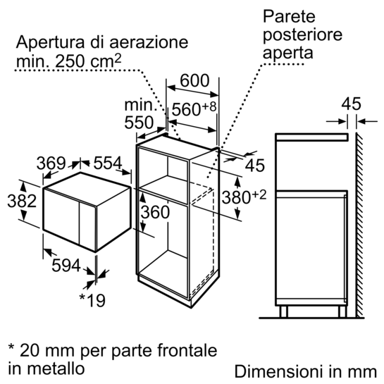 Microonde da incasso iq500 hf24m564 siemens for Lavastoviglie siemens istruzioni