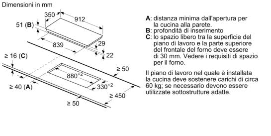 Finitura topclass profili laterali in acciaio inox piano for Lavastoviglie siemens istruzioni