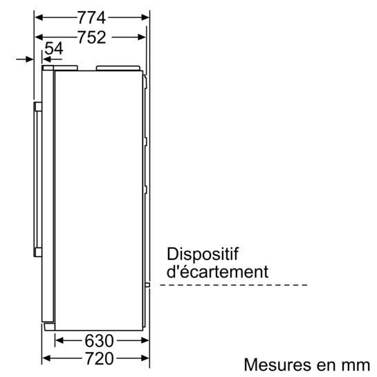 Drawing Lines Media Group : Réfrigérateur congélateur américain iq ka dai