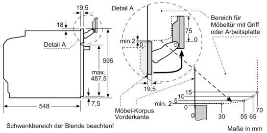 produkte kochen backen herde und back fen einbau back fen 60 cm hoch hsg636bb1. Black Bedroom Furniture Sets. Home Design Ideas