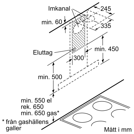 Drawing Lines Media Group : Väggmonterad fläktkåpa cm iq lc ba siemens