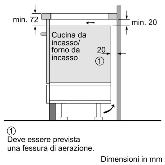 Elettrodomestici bosch prodotti cottura piani cottura for Piano cottura induzione bosch pia611b68j istruzioni
