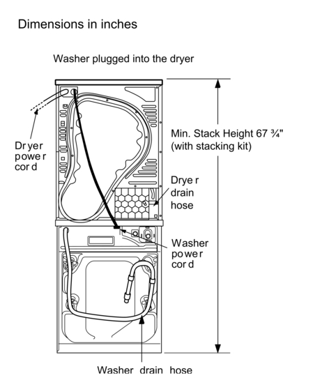 bosch washer dryer instruction manual