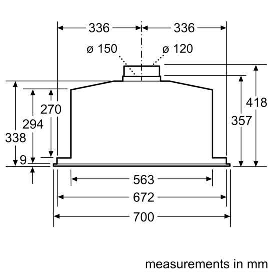 bosch cooker hood instruction manual