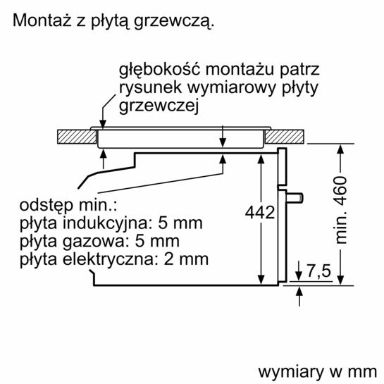 kompaktowy parowar do zabudowy iq700 cd634gbs1 siemens