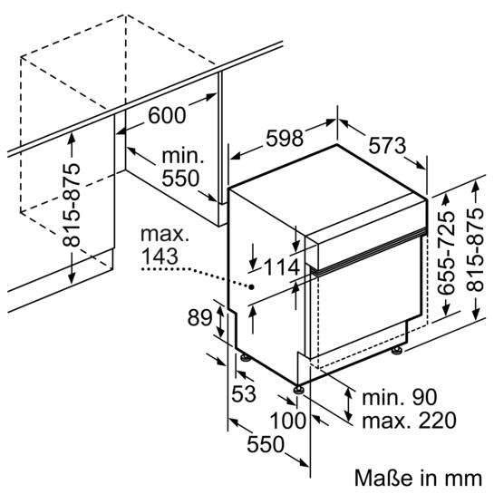 integrierbar edelstahl speedmatic geschirrsp ler 60 cm iq300 sn536s01ce siemens. Black Bedroom Furniture Sets. Home Design Ideas
