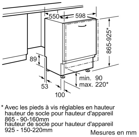 lave vaisselle 60 cm grande hauteur tout int grable iq500 sx66p093eu siemens. Black Bedroom Furniture Sets. Home Design Ideas