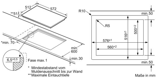 60 cm kochstelle glaskeramik et601en11 siemens. Black Bedroom Furniture Sets. Home Design Ideas