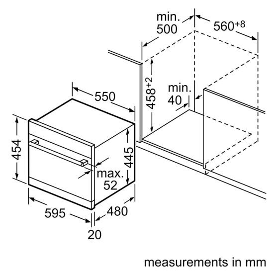 products dishwashers built in dishwashers modular dishwasher ske53m05au. Black Bedroom Furniture Sets. Home Design Ideas