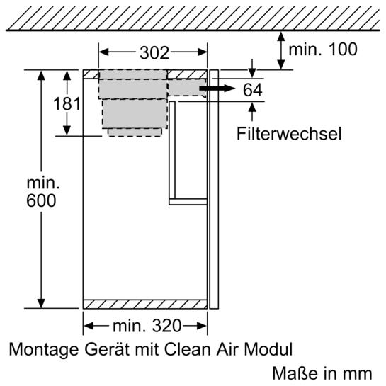 cleanair modul lz46800 siemens. Black Bedroom Furniture Sets. Home Design Ideas