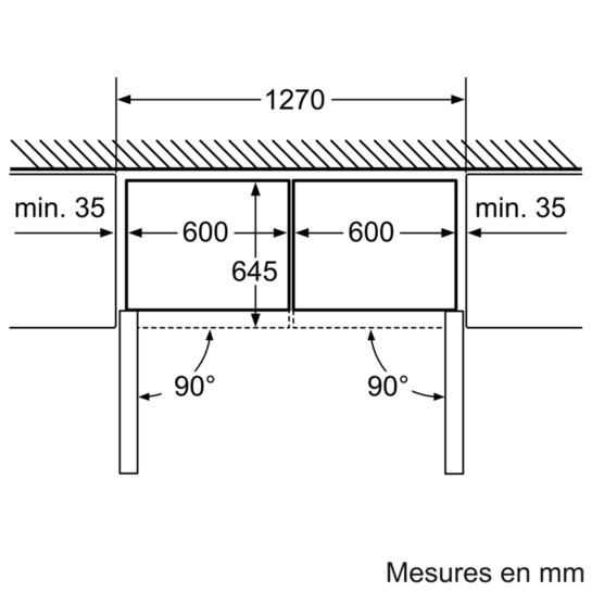 Drawing Lines Media Group : Congélateur armoire confort gs ns siemens