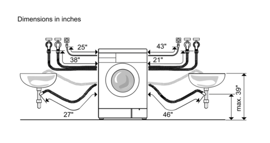 products - compact laundry - compact washers - 24 u0026 39  washers