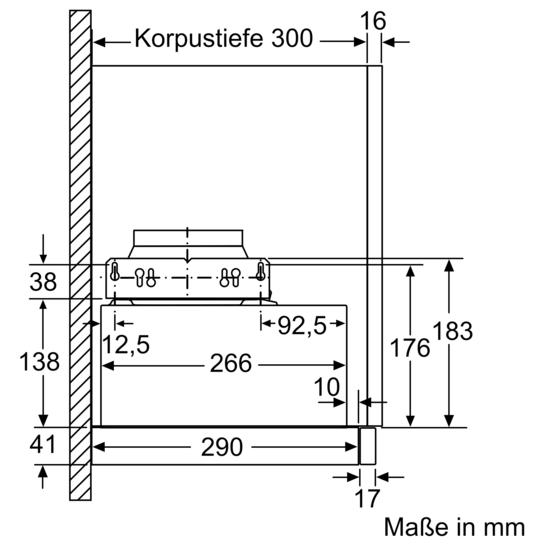 silbermetallic 60 cm flachschirmhaube iq300 li64la530 siemens. Black Bedroom Furniture Sets. Home Design Ideas