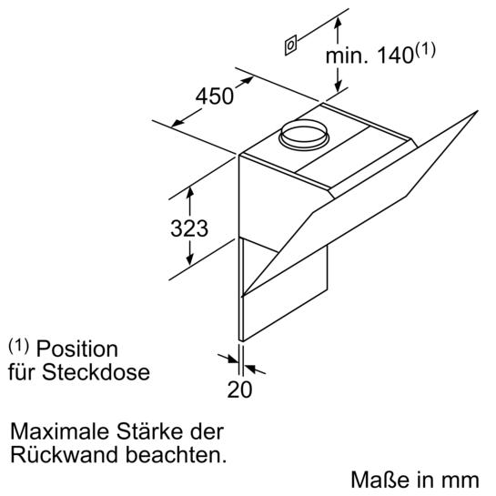 lc67khm20 wei wei mit glasschirm iq300 lc67khm20 siemens. Black Bedroom Furniture Sets. Home Design Ideas