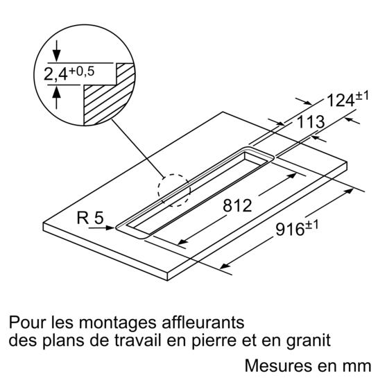 hotte de plan de travail 90 cm iq700 ld97aa670 siemens. Black Bedroom Furniture Sets. Home Design Ideas