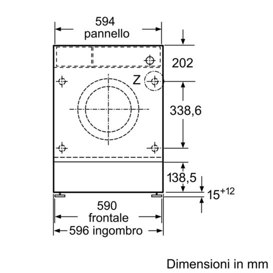 Lavatrice automatica a scomparsa totale iq700 for Lavastoviglie siemens istruzioni