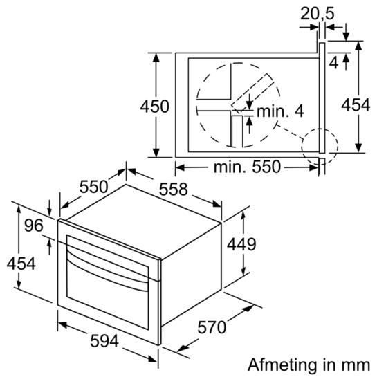 Compacte combi magnetron iq500 cm585ams0 siemens for Bosch inspiratiehuis