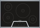 30 inch Masterpiece® Series Induction Cooktop CIT304KB