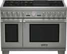48 inch Professional Series Pro Grand Commercial Depth Dual Fuel Range PRD486NLGU
