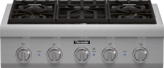 30 inch Professional Series Rangetop PCG305P