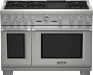 48 inch Professional Series Pro Grand Commercial Depth Dual Fuel Range PRD486JDGU