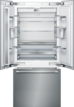 36 - Inch Built in French Door Bottom Freezer
