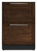 CLASSIC 24 - Inch Custom Panel Under Counter Combo Drawer Refrigerator and Freezer