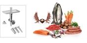 Livsstilssættet Hunting Adventure med kødhakker og pølsehorn til at lave fiske- og vegetarretter Til køkkenmaskinerne i MUM 8 serien