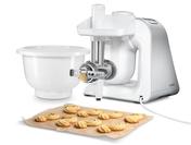 Das Lifestyle Set BakingSensation für köstliches selbstgemachtes Spritzgebäck mit passendem Spritzgebäckvorsatz, Kunststoffschüssel und Fleischwolf zur Teigverarbeitung.