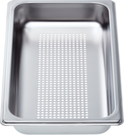 "HEZ36D153G - Perforated Cooking Pan-Half Size, 1 5/8"" Deep HEZ36D153G"