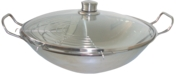 HEZ390090 - Wok, rostfri med glaslock