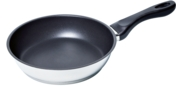 "HEZ390220 - 9"" Stainless Steel Pan with Nonstick Coating HEZ390220"