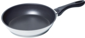 "HEZ390230 - 10"" Stainless Steel Pan with Nonstick Coating HEZ390230"