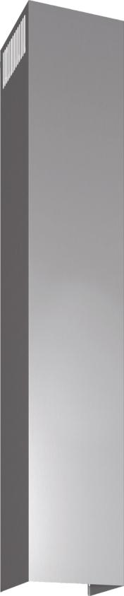 DHZ1235 - Skorstensförlängning, 1.5 m Rostfritt stål