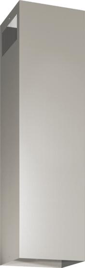 DHZ1245 - Skorstensförlängning frihängande, 1.1m Rostfritt stål