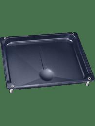 grillpfanne mit f en und halterung f r rotisserie drehspie 25mm tief 00468422. Black Bedroom Furniture Sets. Home Design Ideas