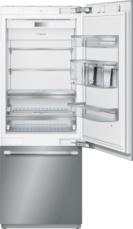 30 - Inch Built in 2 Door Bottom Freezer