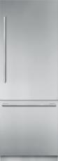 30 - Inch Stainless Steel Built in 2 Door Bottom Freezer, Pre-Assembled, Masterpiece® Handle