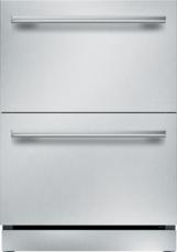 NEW 24 - Inch Masterpiece Under Counter Double Drawer Refrigerator