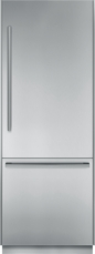 30 inch Pre-Assembled Built-In Bottom Freezer with Masterpiece® Handles